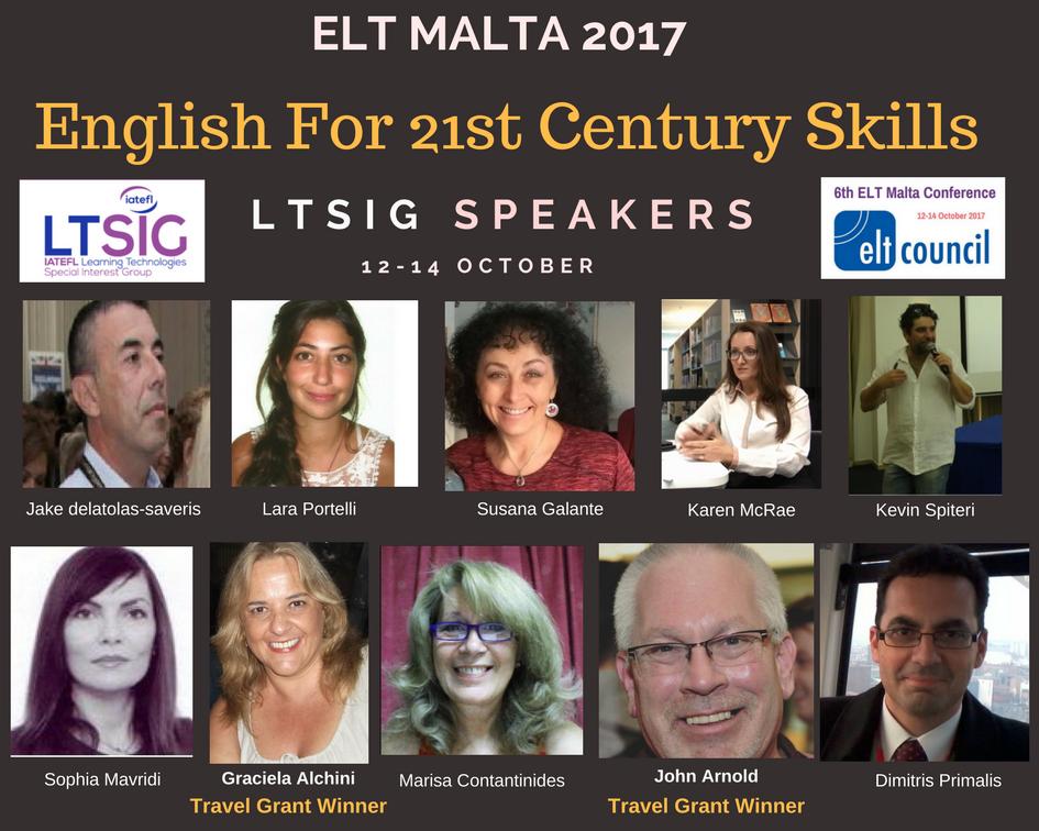 Meet Our Speakers at ELT Malta…