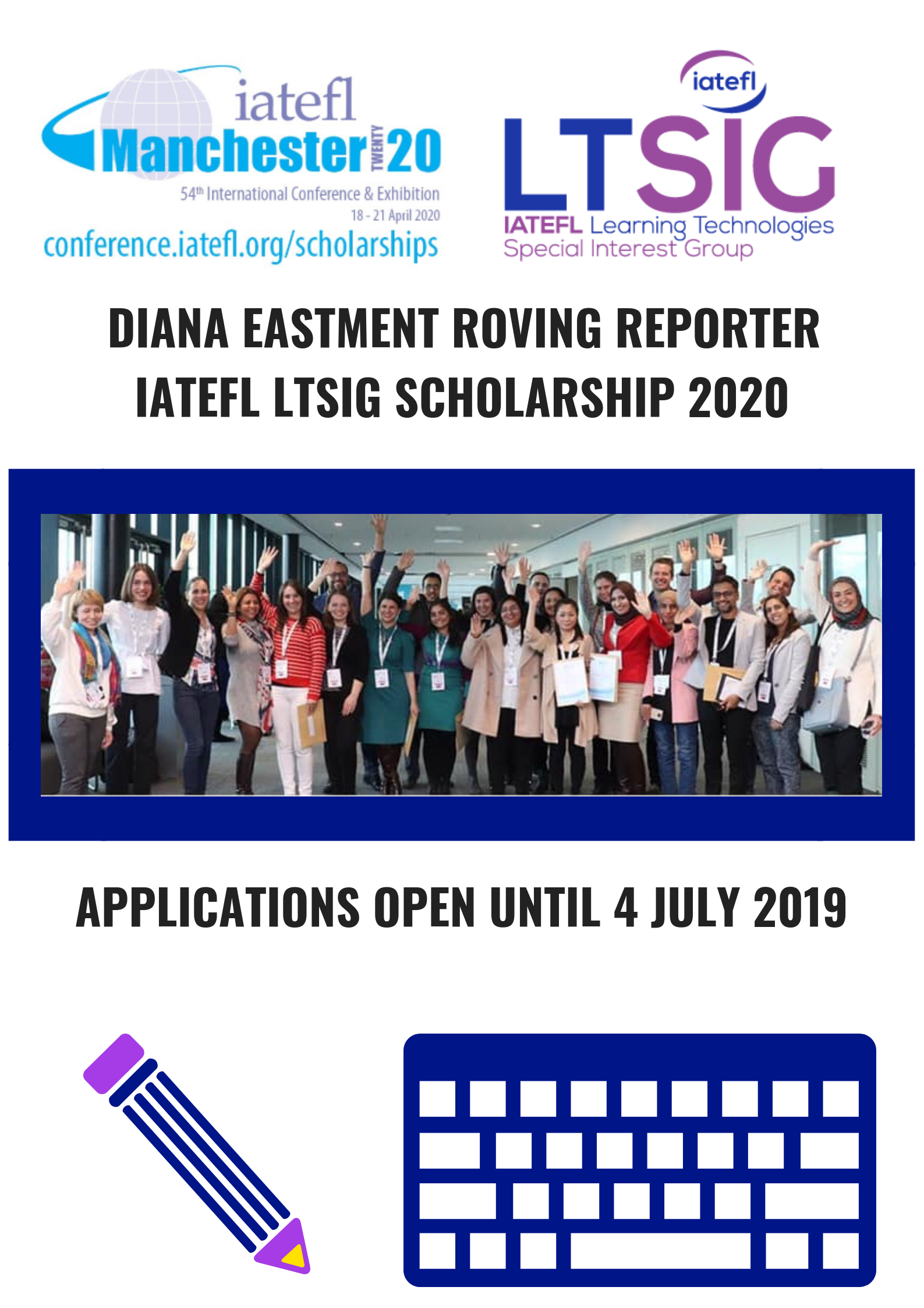 LTSIG Scholarship for IATEFL M…