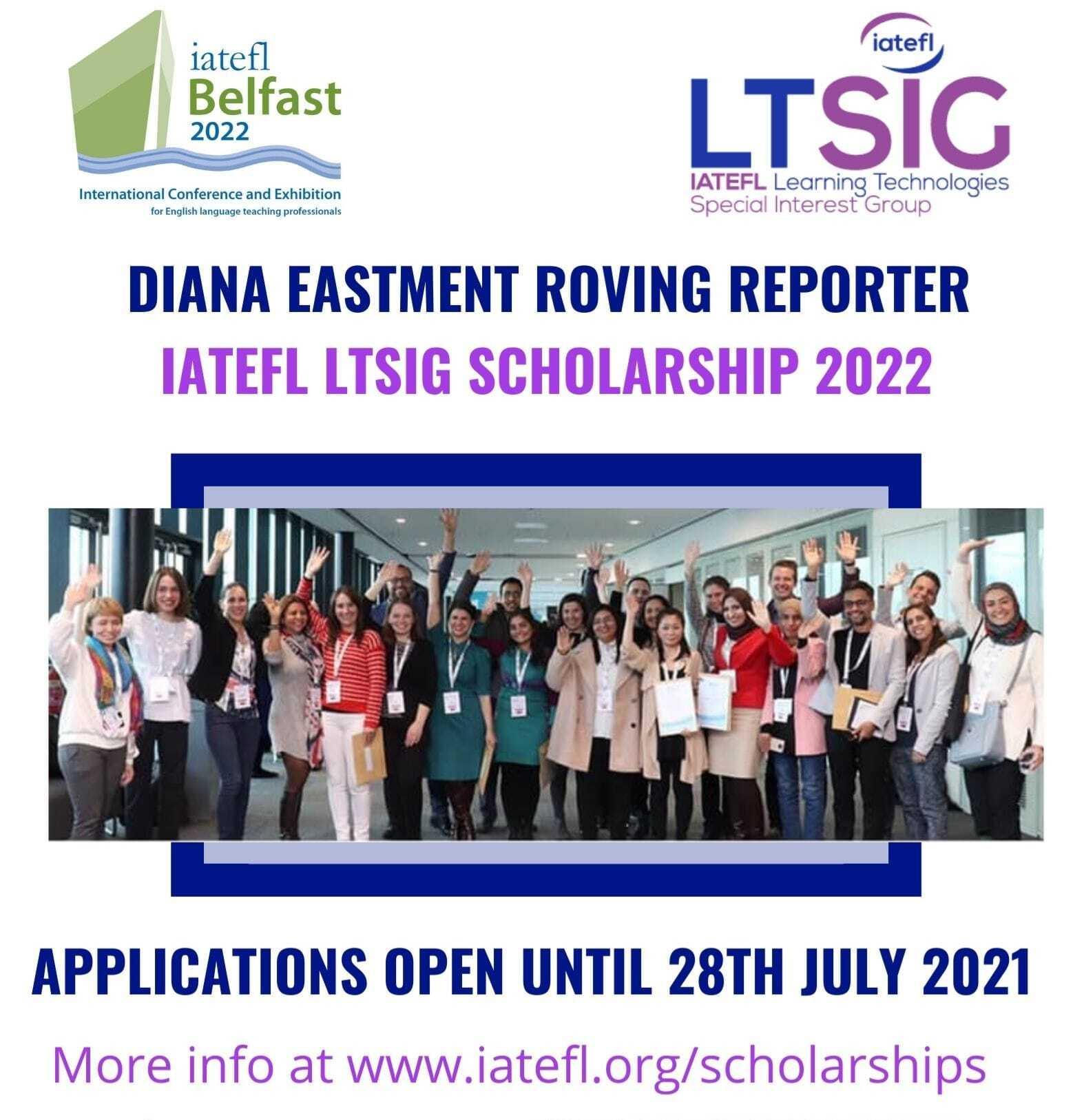 LTSIG Scholarship for IATEFL B…