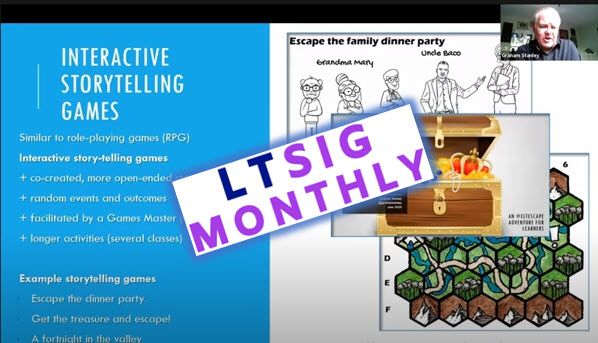 LTSIG MONTHLY!