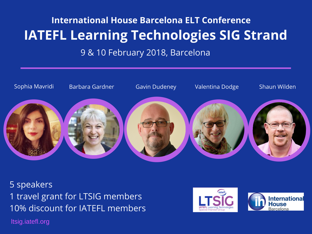 Announcing the LTSIG strand at…