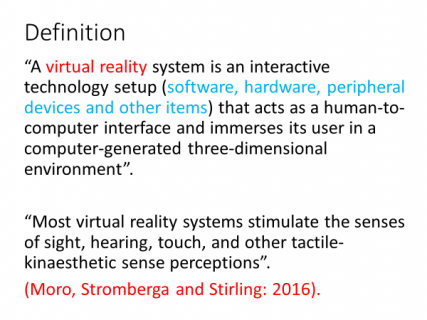 Virtual Reality in English Language teaching | LTSIG